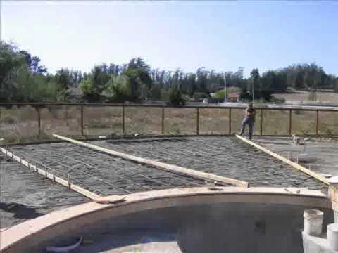Concrete Backyard Patio Petaluma CA
