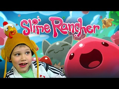 видео: slime rancher Ловим Куриц Кормим Слаймов Летсплей от mister max
