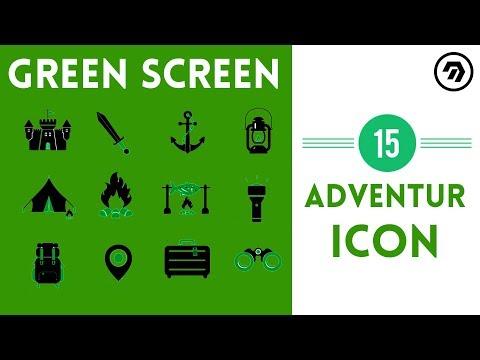 15 Green Screen Adventure Icon | mrstheboss