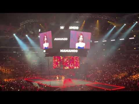 KCON LA '19 Mamamoo Performance [Bad Fancam]