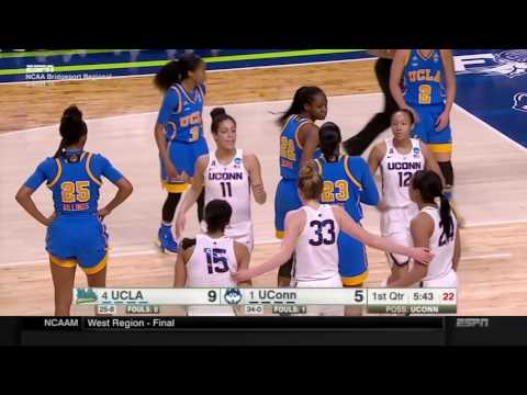 UCLA  -vs-  UCONN 2017 March Madness Sweet Sixteen