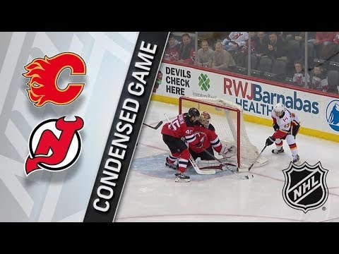 Calgary Flames vs New Jersey Devils – Feb. 08, 2018 | Game Highlights | NHL 2017/18. Обзор