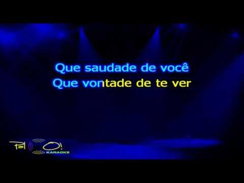 Porto do Som   Cinco dias - Karaoke