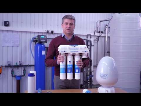 Система очистки воды на основе обратного осмоса AquaMagic