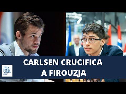Carlsen crucifica a Firouzja en el Tata Steel 2020 (Ronda 9)
