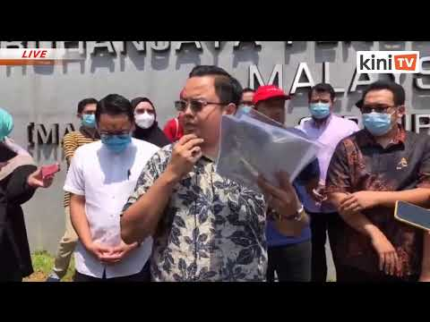 LIVE: Amanah Buat Laporan Polis Terhadap PM