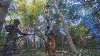 สร้างบ้านบนต้นไม้ สูงที่สุดในประเทศไทย เอาชีวิตรอดในป่าลึก [EP.1/2]