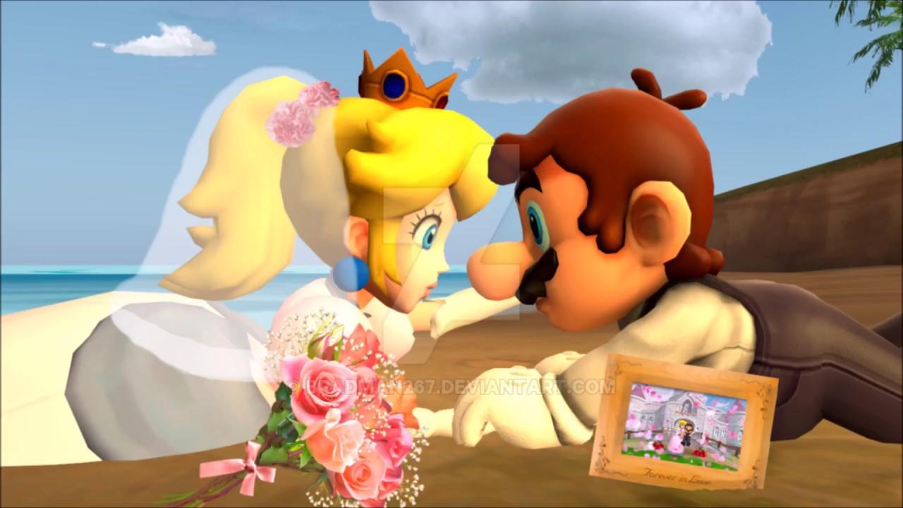 ♥Mario x Peach - Chapel of Love - (The Wedding)♥ - YouTube