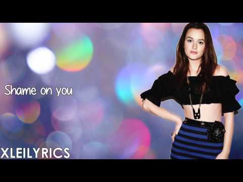 Leighton Meester - Entitled (Lyrics Video) HD