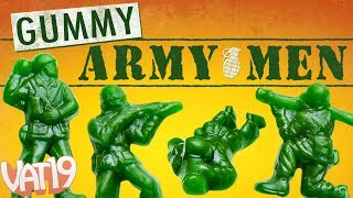 GUMMY Green ARMY MEN (5-pound bag!)