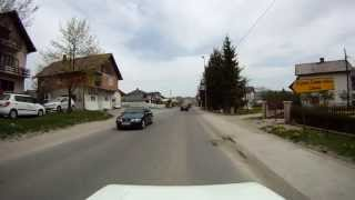 Bosnian road M-19 (03. Podromanija village - Sokolac town)