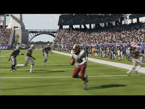 MUST WATCH! Robert Griffin III Stars in Greatest Comeback in Madden 13 Online Gameplay History?