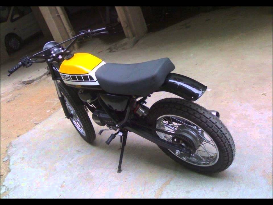 yamaha rx 100 modified youtube