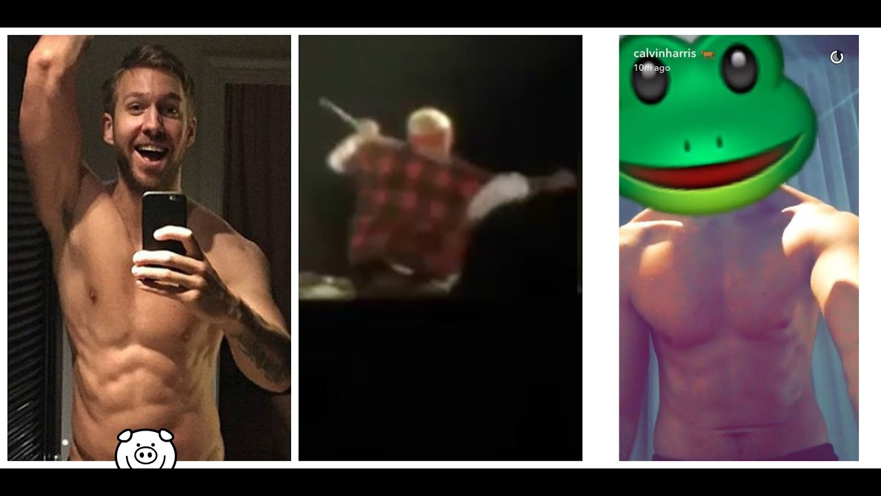 Calvin Harris Nude Photos Allegedly Leak Online