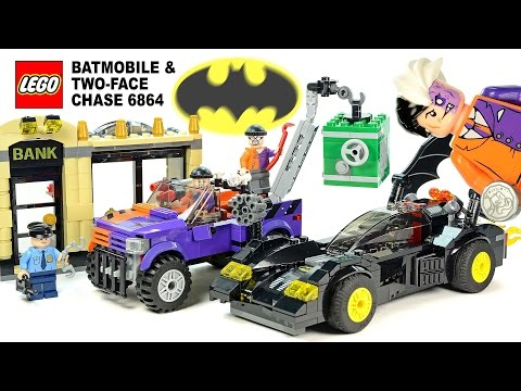 LEGO® Batman: The Batmobile & The Two-Face Chase 6864 DC Comics Super Heroes