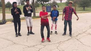 Kingshawn@Nba young boy down chick(dance video)