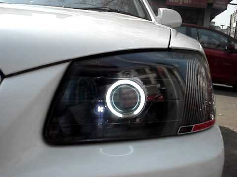 Mx3 Projector Headlight Hyundai Accent Youtube