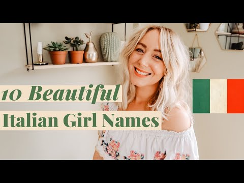 10 Beautiful Italian Girl Names With Meanings | SJ STRUM