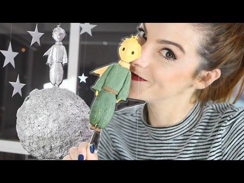 DIY :: Decorando o Quarto ♥ Súper Facil e LINDO! Móbile Pequeno Príncipe