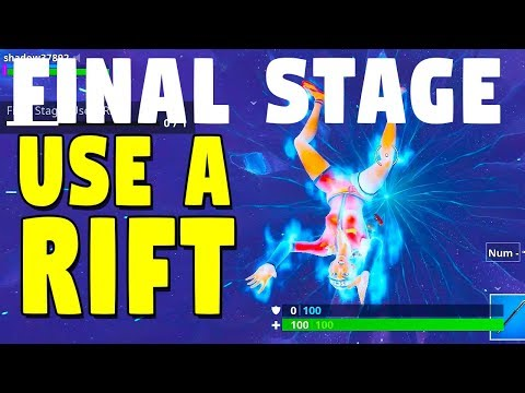 FINAL STAGE: Use A Rift, Fortnite Season 6, Week 8 Challenges