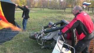 Полет на воздушном шаре, Прохоровка - Короча