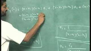Lecture 10 - Error In Interpolation Polynomial