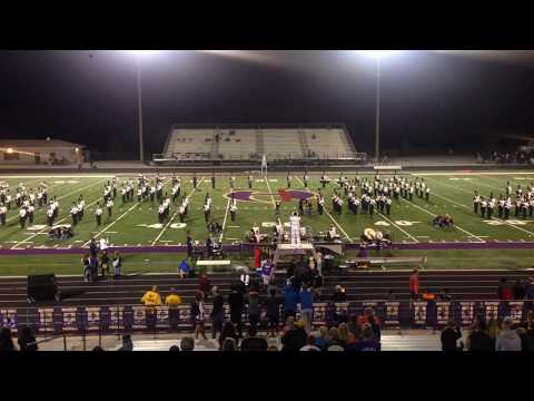 Hiram high school band of gold