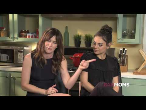 BAD MOMS Interview: Mila Kunis and Kathryn Hahn