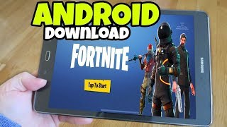 DOWNLOAD FORTNITE SUL VOSTRO TELEFONO ANDROID!!