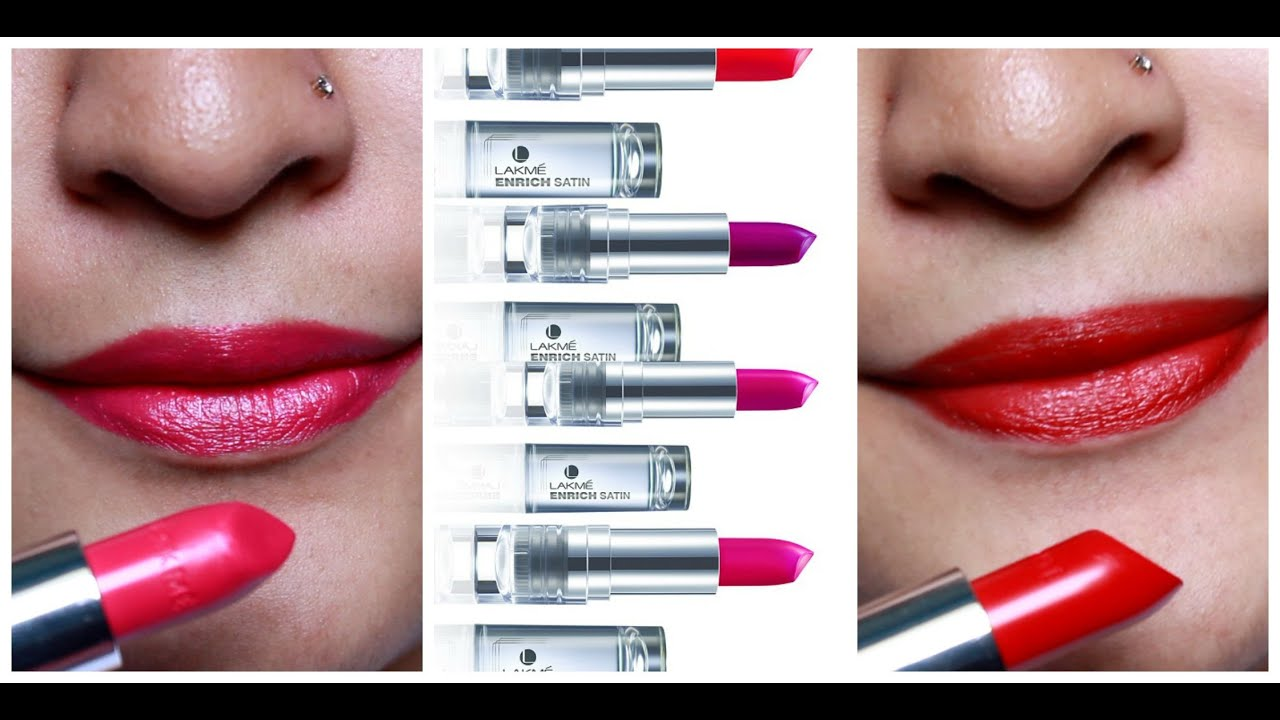 Lipstick shades lakme with price