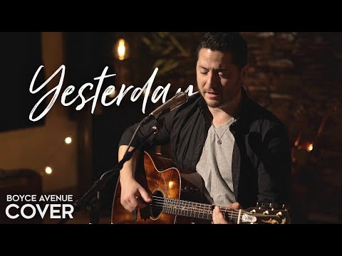 Music video Boyce Avenue - Yesterday