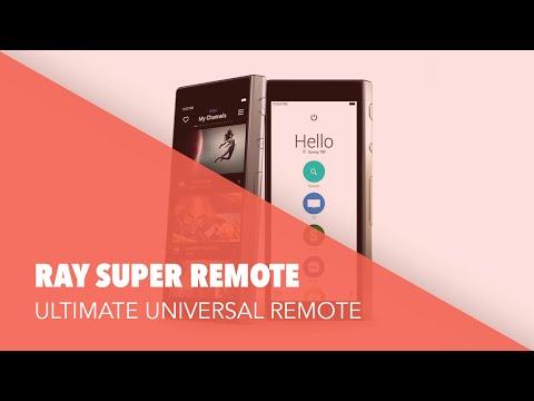Ray Super Remote: Ultimate Touchscreen Universal Remote Control - #GadgetFlow Showcase