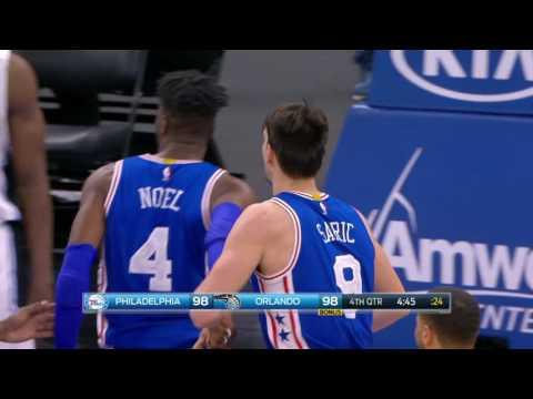 Philadelphia 76ers vs Orlando Magic | February 9, 2017 | NBA 2016-17 Season