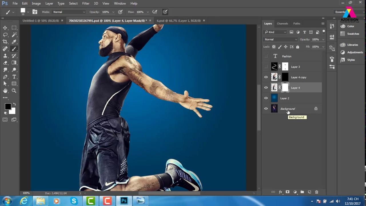 Photoshop Online, Brush PHOTOSHOP, Hiệu Ứng Brush Trong Photoshop