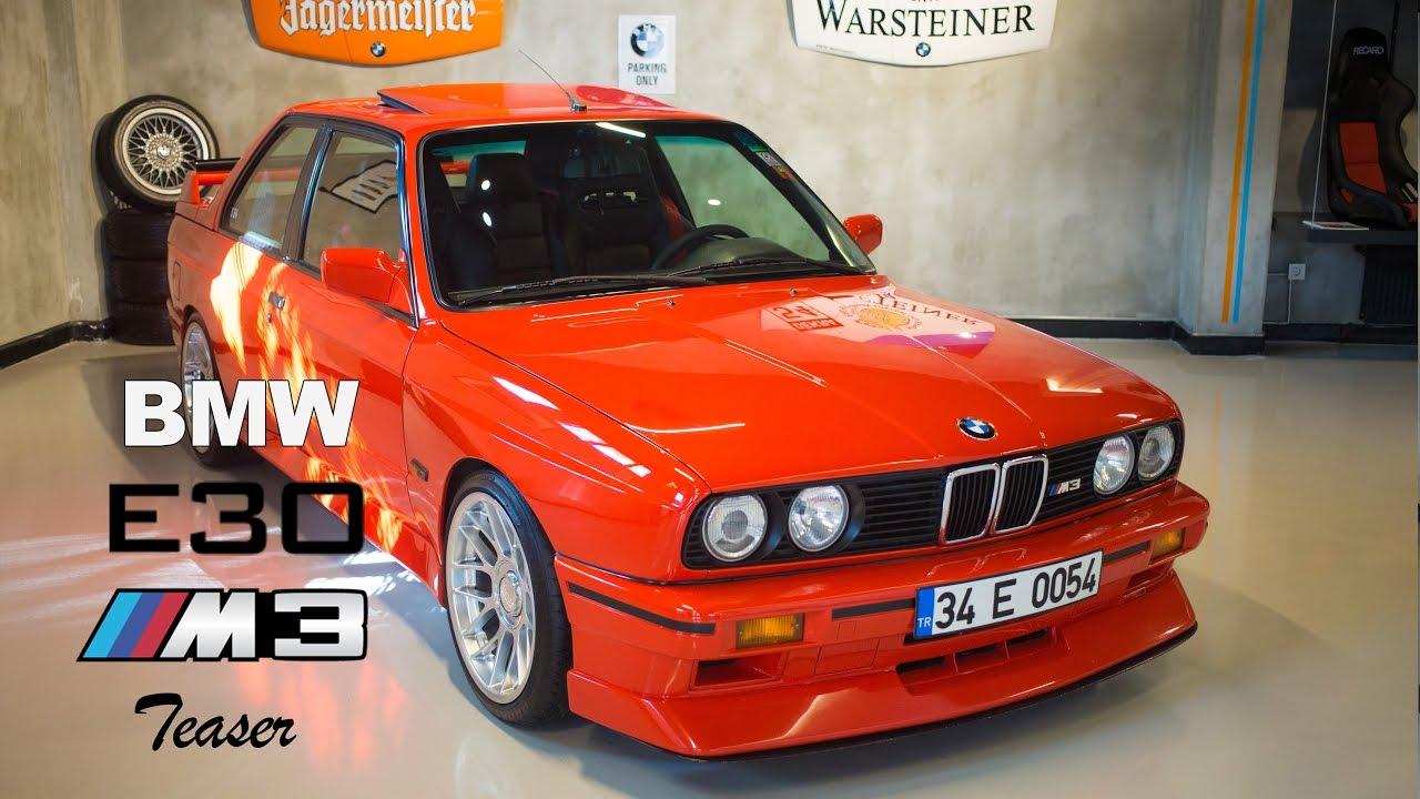 1987 BMW E30 M3 Fragman - YouTube