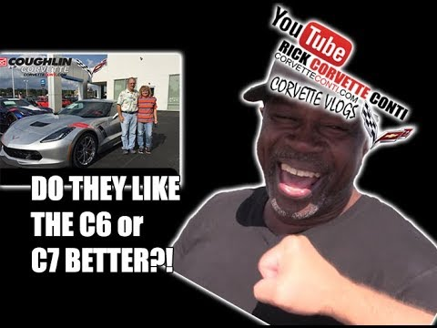 DO THEY LIKE THE C6 or C7 BETTER RICK CONTI'S VLOGS