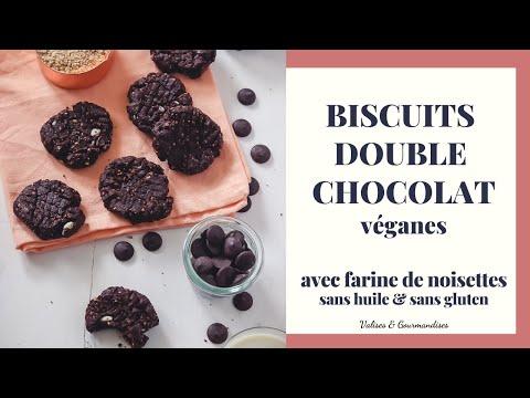 biscuits-double-chocolat-À-la-farine-de-noisettes-|-recette-vegan-facile