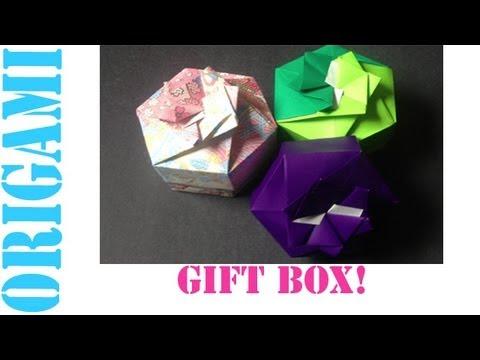 Origami Hexagon Box Lid Ver. 1 (Modular 2 Unit) - SunderOrigami!