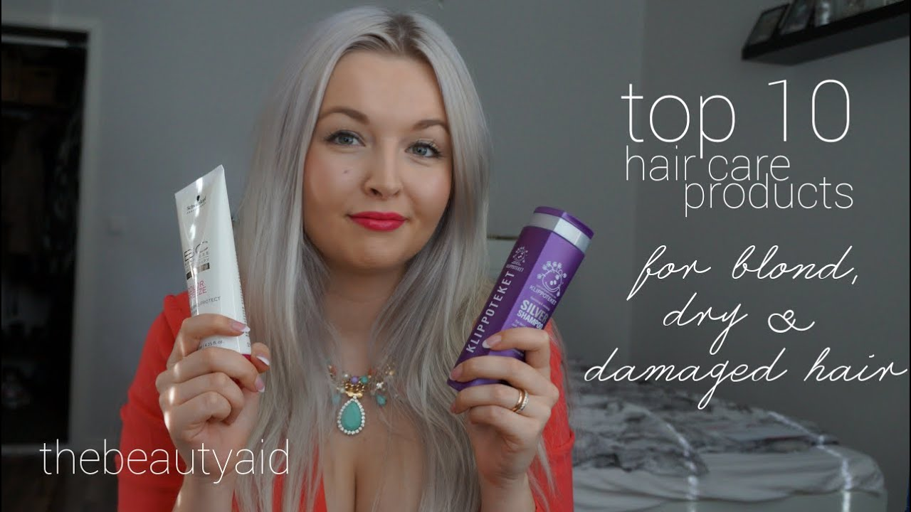 Top 10 Hair Care Products For Blond Dry Amp Damaged Hair