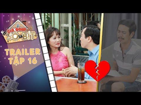 Gia đình sô - bít | Trailer tập 16: Bà Bông đoạn tuyệt tình nghĩa với Bảo Ân để nối lại với tình cũ?