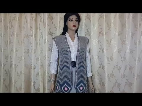 Crochet Vest For Women Tutorial Youtube