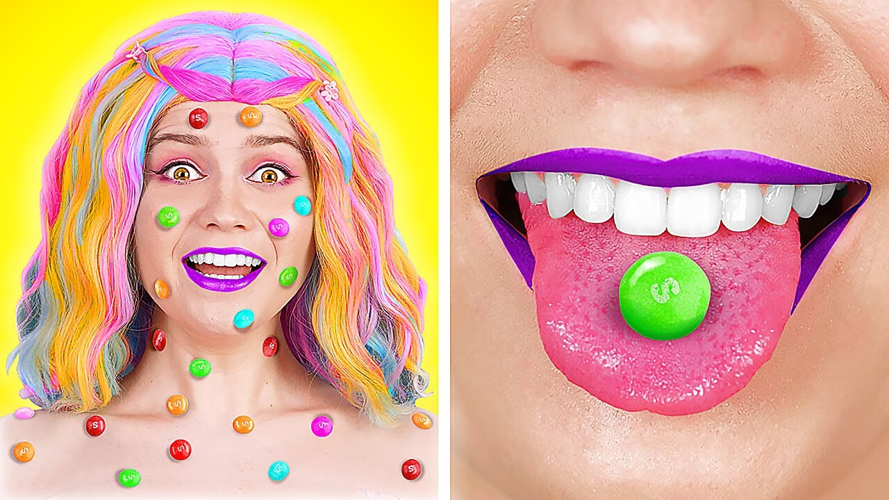 WOW! CRAZY FOOD PRANKS AND FUNNY WAYS TO SNEAK FOOD    DIY Edible School Supplies By 123 GO! TRENDS