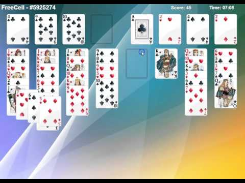 How To Play Freecell (Card Game)