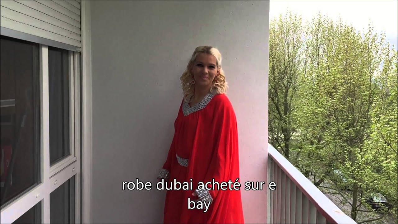Tenue En Robe Oriental Pour Le Mariage De Ma Niece