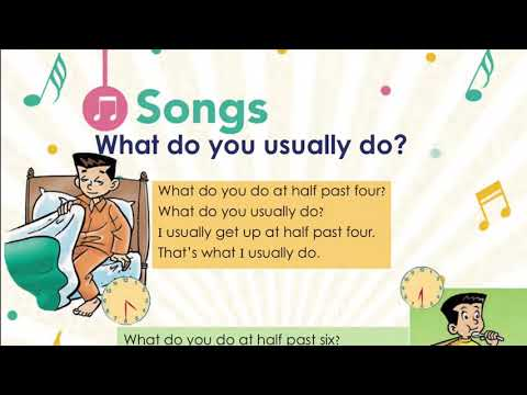 Song what do you usually do ?