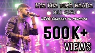Kya Hua Tera Live Full Song | Live In Concert | Madhur Sharma | Mumbai | Neha Kakkar | Atif Aslam