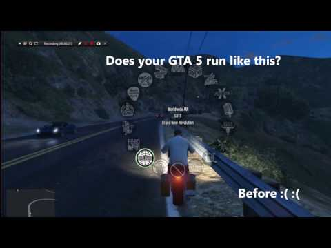 7 WAYS TO FIX GTA 5 LAG AND GRAPHICS DISAPPEARANCE(100% WORKS......)  5 Year Of GTA 5