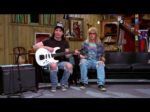 Wayne's World and the democratization of TV from public access to YouTube
