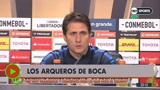 Guillermo habló de Rossi y Andrada: