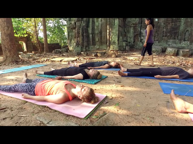 blue indigo yoga siem reap -  Magic of angkor